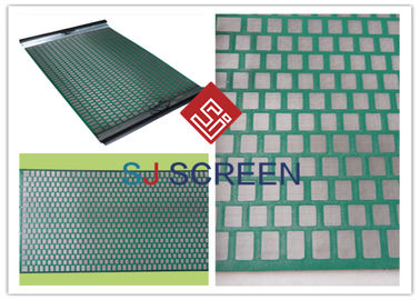 China FLC 500 Wave Typed DurableShaker Screen Mesh Hohe Auslastungsrate Grüne Farbe distributeur